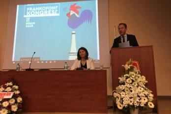 13. Frankofoni Kongresi Ankara'da toplandı