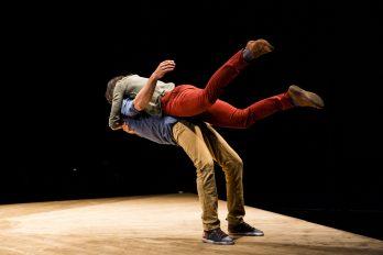 Dans: Düşen Kimse, Yoann Bourgeois
