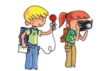 Médiathèque : L'heure du conte, spécial petit reporter
