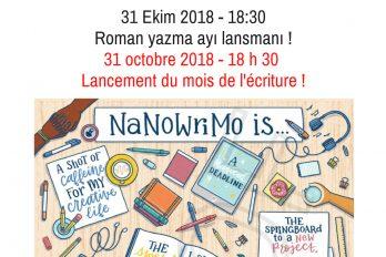 Kütüphane: Nanowrimo