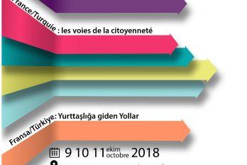 Conférence : France/Turquie : Les voies de la citoyenneté
