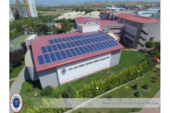 Gros plan sur les établissements Tevfik Fikret (Izmir et Ankara)
