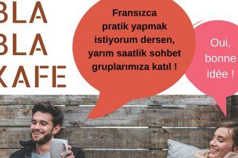 Etkinlik: Kafe Bla Bla