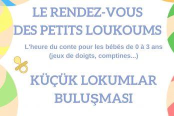 Lecture de contes : Le rendez-vous des Petits Loukoums