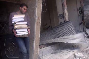 Documentaire : Daraya, la bibliothèque sous les bombes