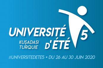 Ertelenmiştir / 5e Université d'été des Professeurs de français de Turquie