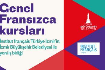İnstitut français Türkiye İzmir'in, İzmir Büyükşehir Belediyesi ile yeni iş birliği