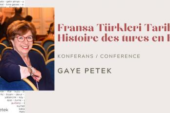 KONFERANS: FRANSA'DA TÜRKİYE'NİN YÜZLERİ