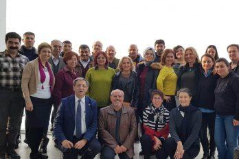 MEB'e bağlı Fransızca öğretmenlerinin formasyonu Yenifoça'da devam ediyor