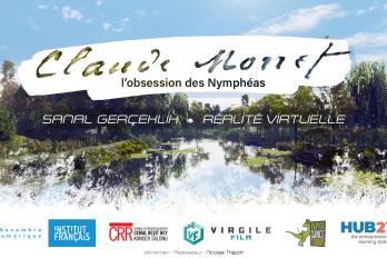 Dijital Kasım: Claude Monet'nin sanal gerçeklik deneyimi  « Su Zambakları Saplantısı »
