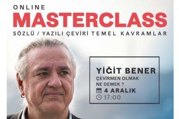 Masterclass avec Yiğit Bener, Traduction & Interprétation : Concepts fondamentaux (en turc)