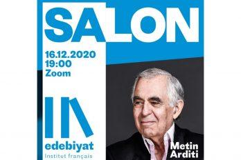 Salon Edebiyat: Metin Arditi & Ayşenaz Cengiz