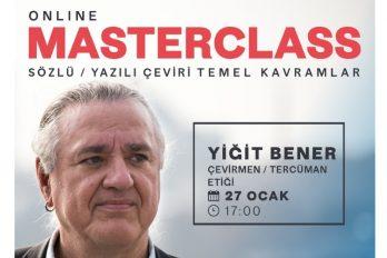 Yiğit Bener ile Masterclass, Sözlü ve yazılı çeviride temel kavramlar – 5