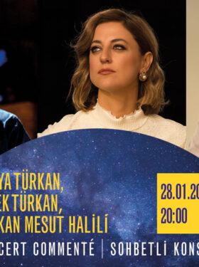 FİKİRLER GECESİ / SOHBETLİ KONSER : DERYA & DİLEK TÜRKAN
