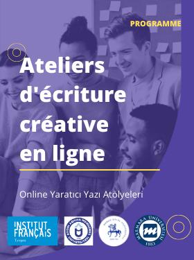 ATELIERS D'ECRITURE CREATIVE