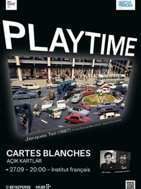 Cartes blanches : Playtime