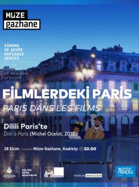 SİNEMA: DİLİLİ PARİS'TE